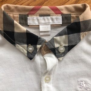 Burberry Shirts & Tops - Burberry Polo - Boys 2Y - Excellent Condition
